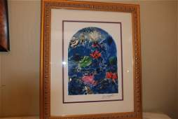 Stained Glass Windows Giclee Print by Marc Chagall
