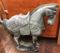 Large Ming Jade Horse