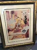 Business Man Limited Ed Print by Salvador Dali