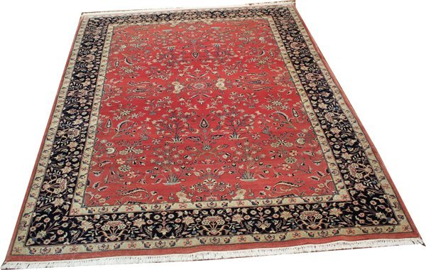 71020: Hand-Knotted Pak Persian  - 6' X 9' # 71020