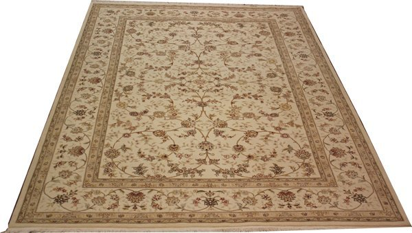 71021: Hand-Knotted Oriental  - 6' X 9' # 71021
