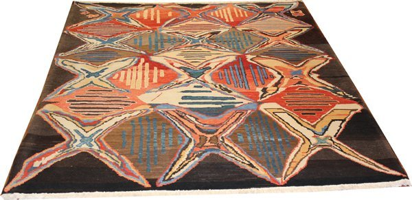"71022: Hand-Knotted Gabbeh  - 6'5"" X 8' # 71022"
