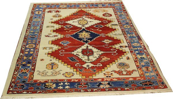 "71023: Hand-Knotted Turkish  - 6' X 8'8"" # 71023"