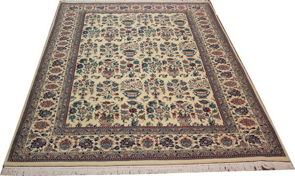 "71024: Hand-Knotted Persian Pak  - 6' X 9'2"" # 71024"