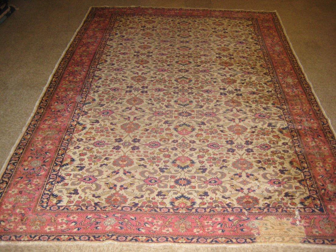 """011901A: Antique Turkish Sivas - 6'9"""" x 9'6"""""""
