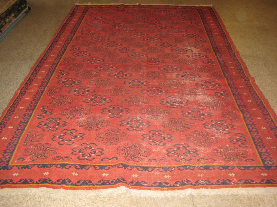 "020599: Antique Samarkand - 6'7"" x 10'6"""