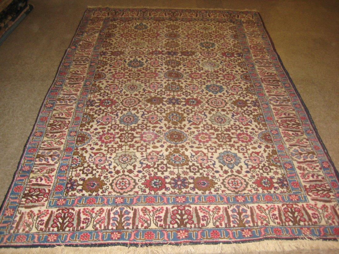 """022411: Semi Antique Tabriz - 6'3"""" x 9'10"""""""