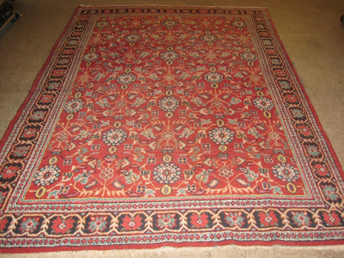 """026711: Antique Persian Mahal - 7' x 10'4"""""""