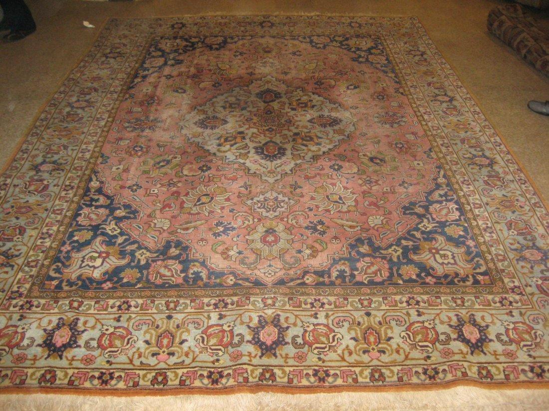 "029311: Antique Persian Tabriz - 8'6"" x 11'5"""