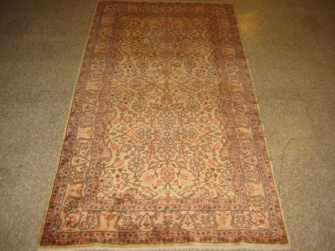 """052212: Antique Turkish Sivas - 3'7"""" x 6'5"""""""