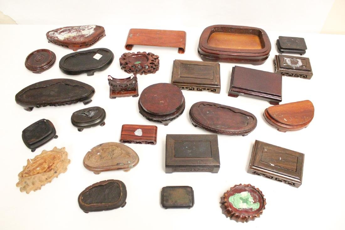 Lot of misc. wood stands