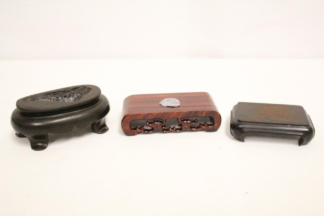 Lot of misc. wood stands - 4