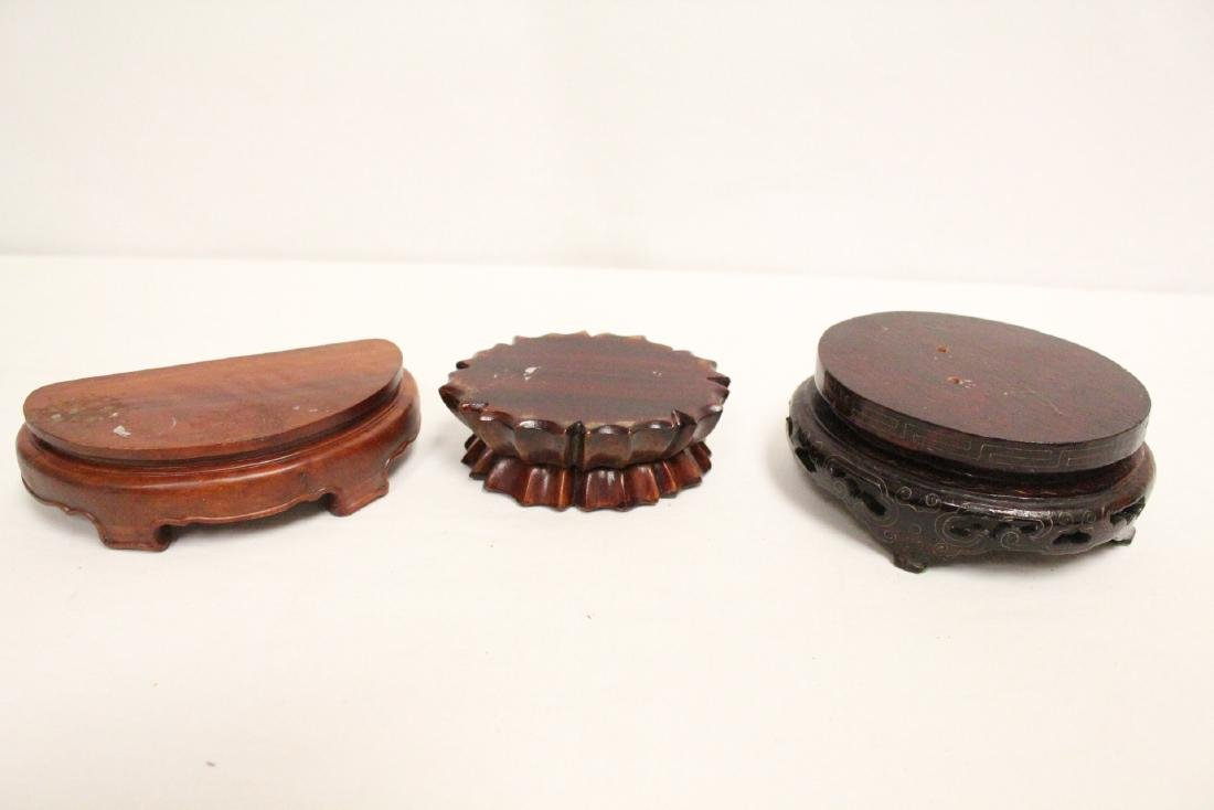 Lot of misc. wood stands - 8