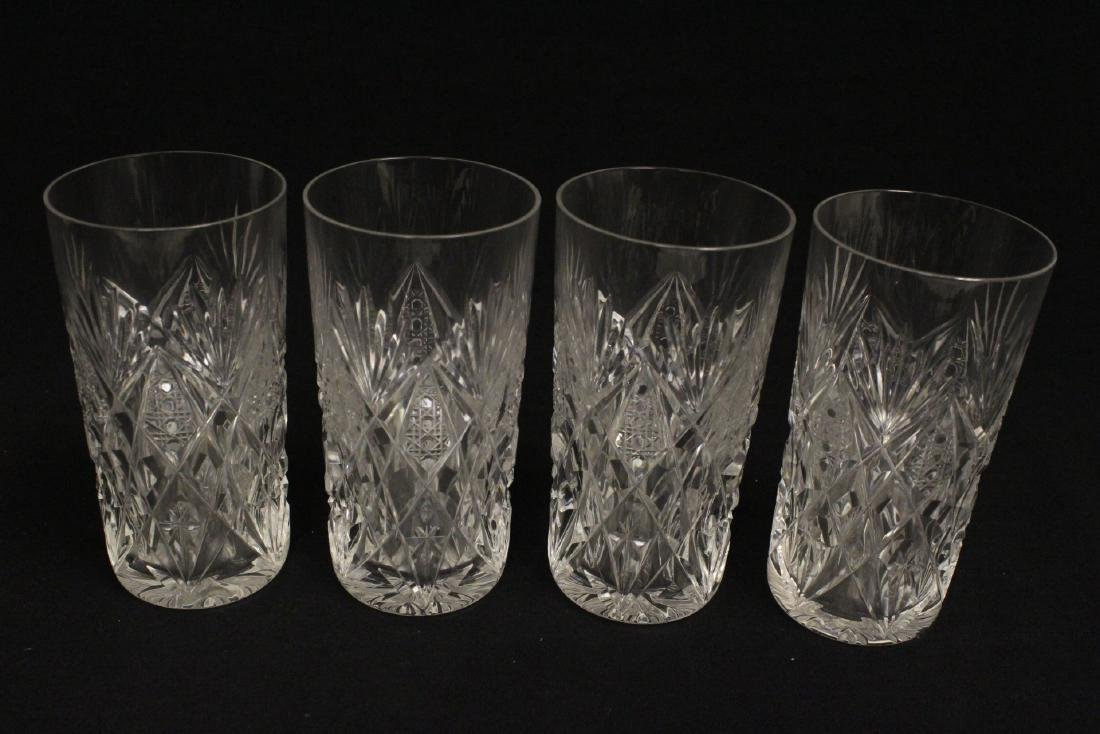 12 highball tumblers by St. Louis - 6