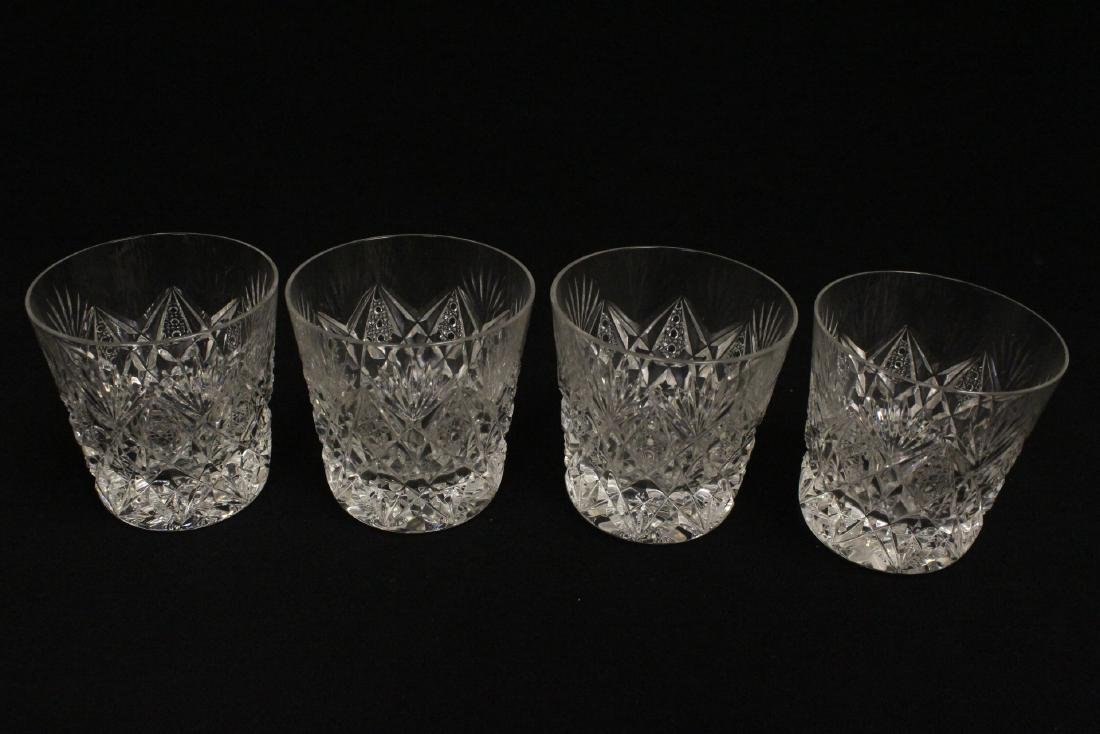 12 old fashion whisky tumblers by St Louis - 6