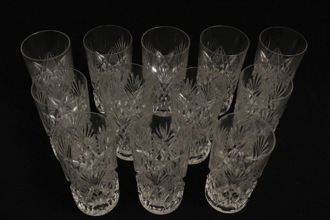 12 highball tumblers by St. Louis