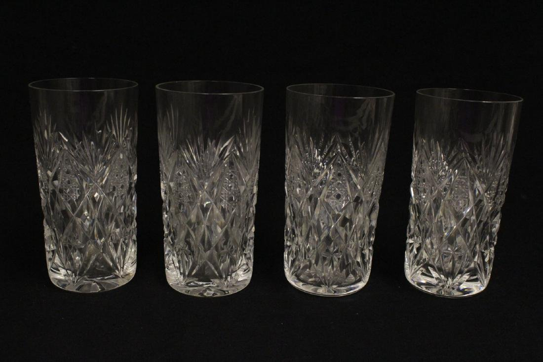 12 highball tumblers by St. Louis - 3