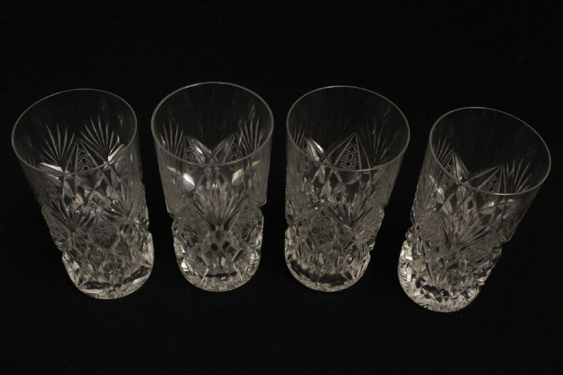 12 highball tumblers by St. Louis - 4