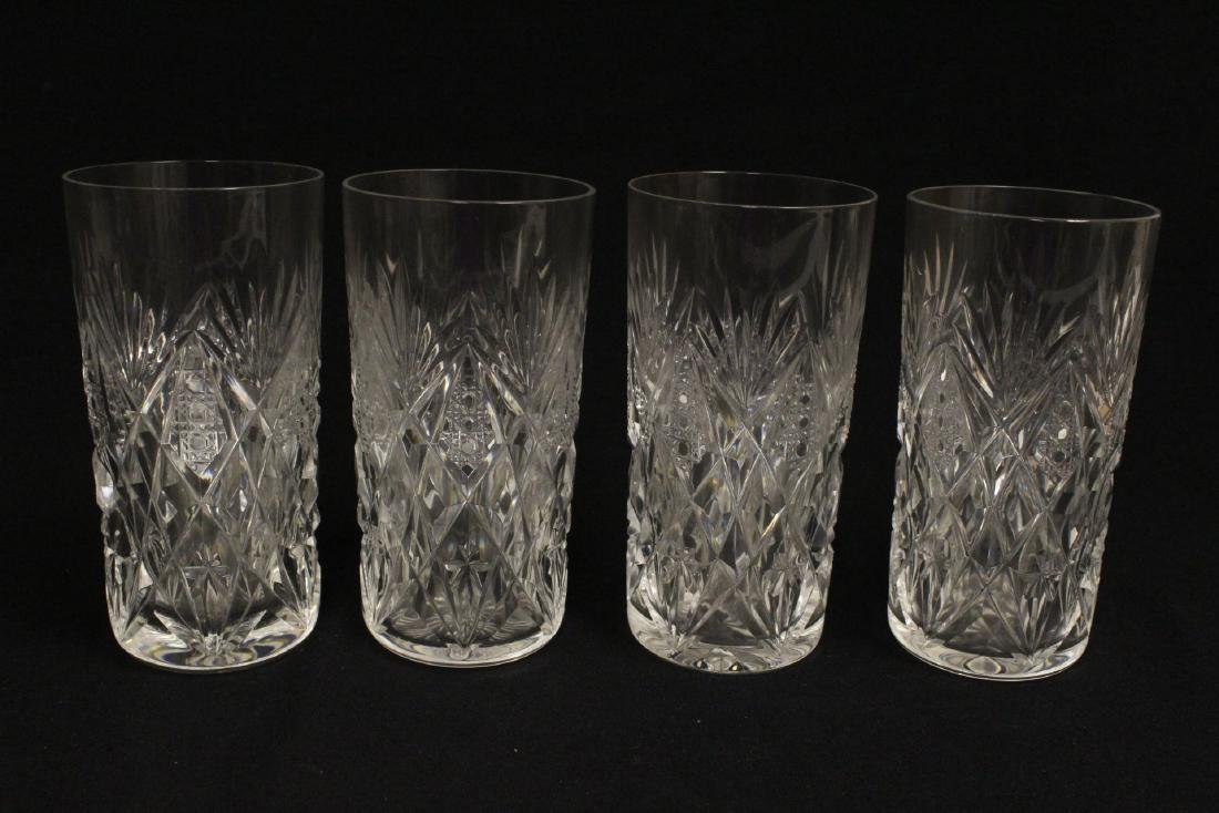 12 highball tumblers by St. Louis - 7