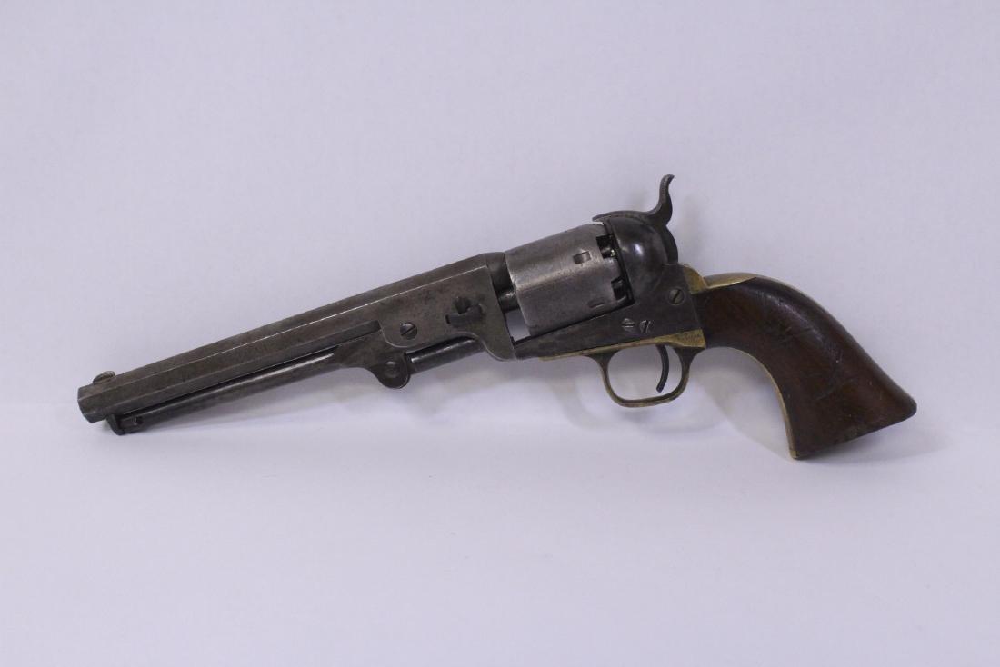 1863 Colt Navy officer pistol