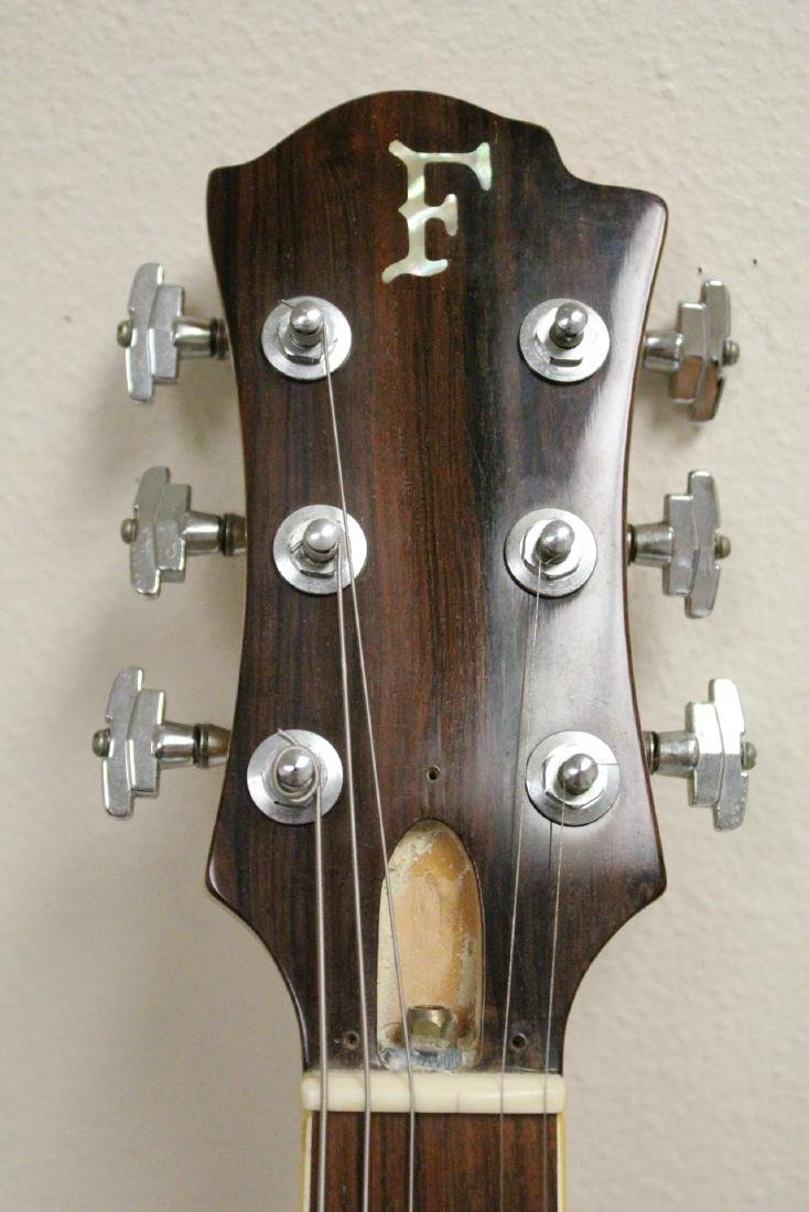 Early Fender (?) electric guitar, #02804 - 5