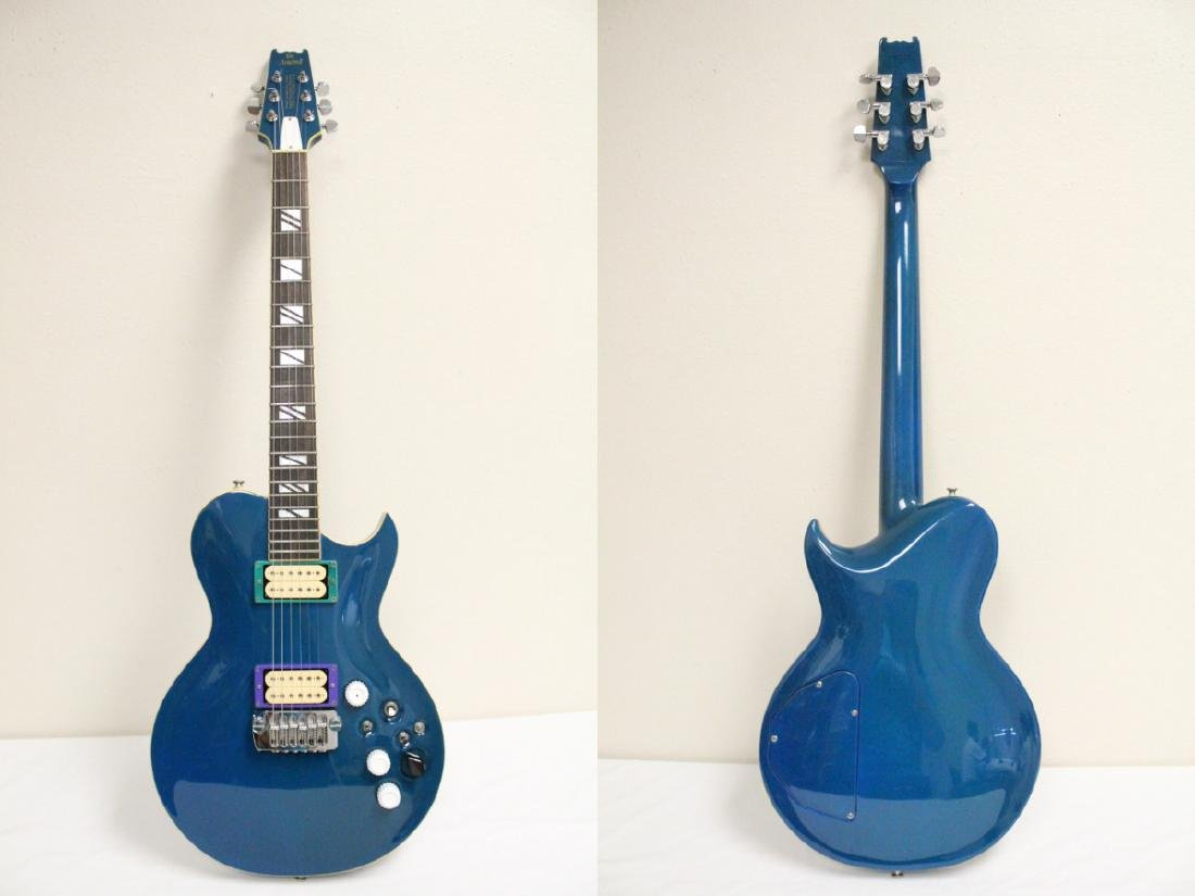 Aria pro II electric guitar, designed by H. Noble - 2