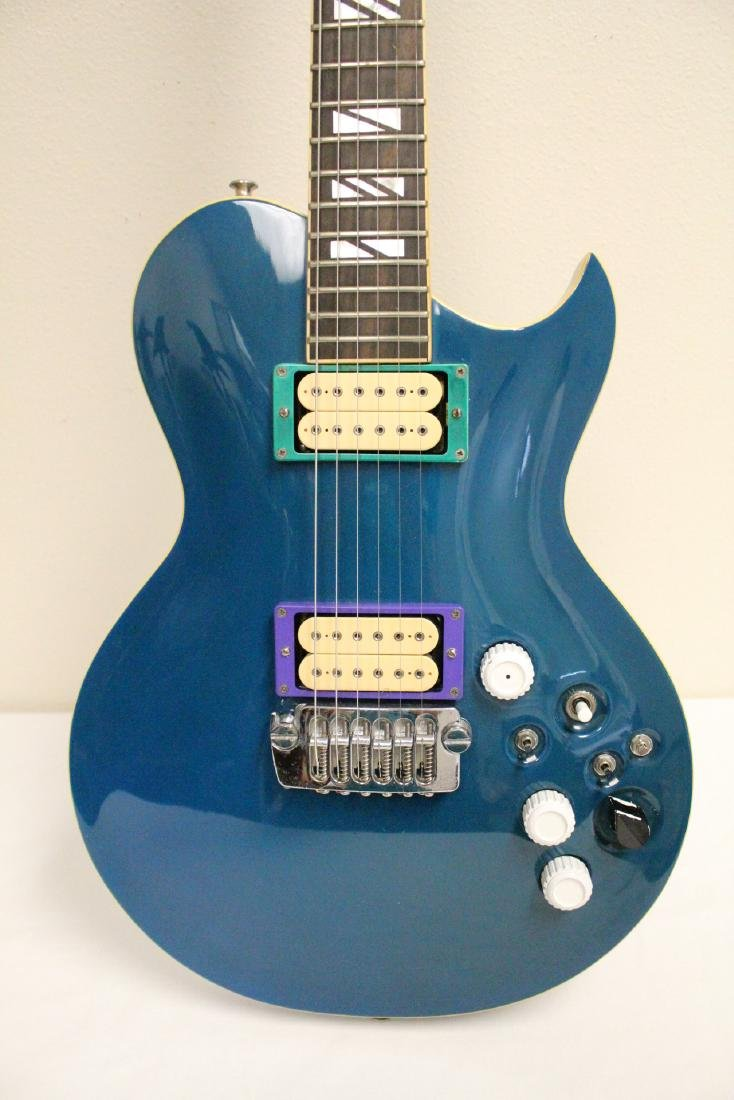 Aria pro II electric guitar, designed by H. Noble - 4
