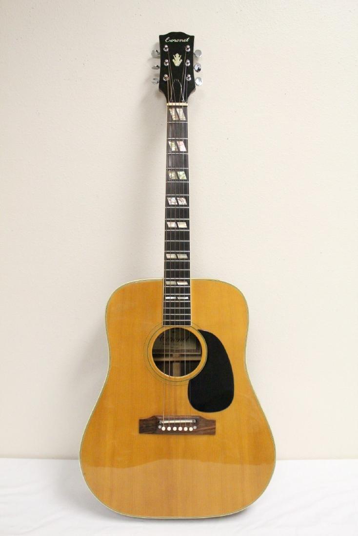 A Coronet acoustic guitar, model 680.D - 2