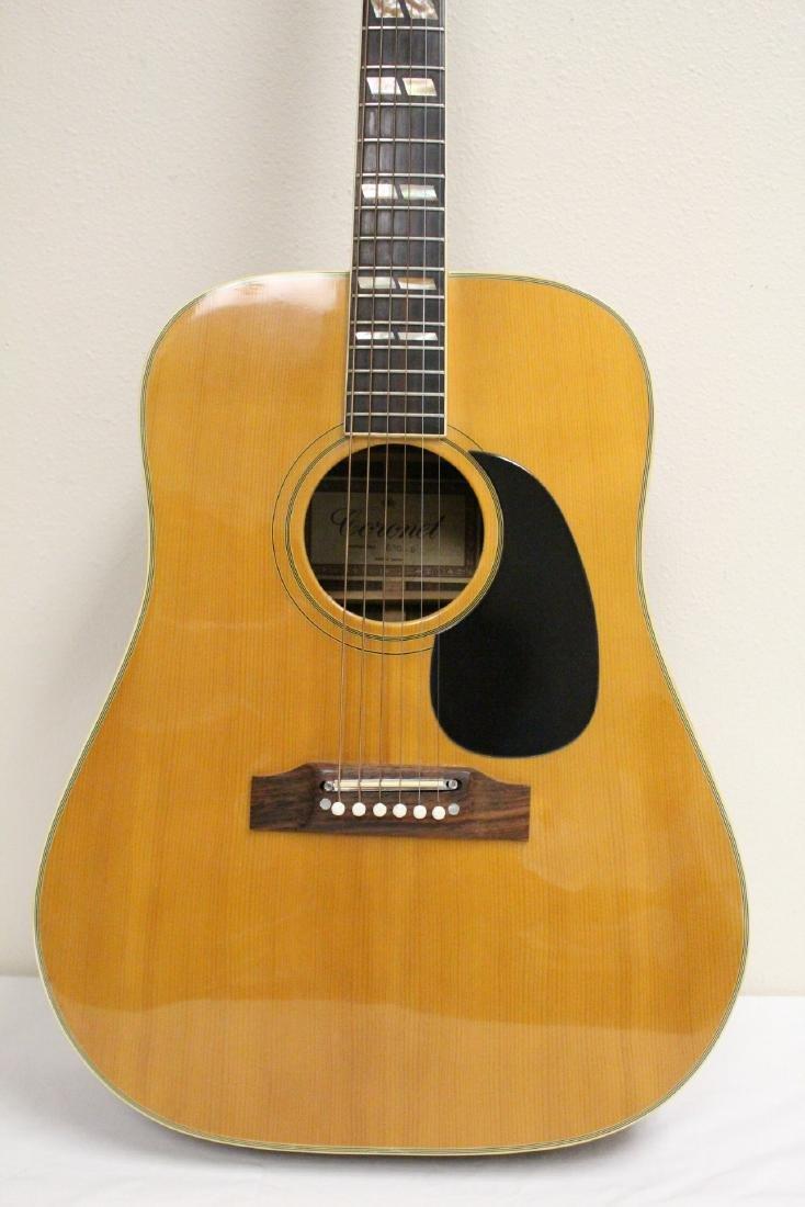 A Coronet acoustic guitar, model 680.D - 3