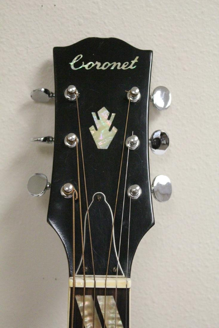 A Coronet acoustic guitar, model 680.D - 5