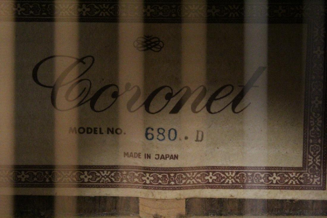 A Coronet acoustic guitar, model 680.D - 6