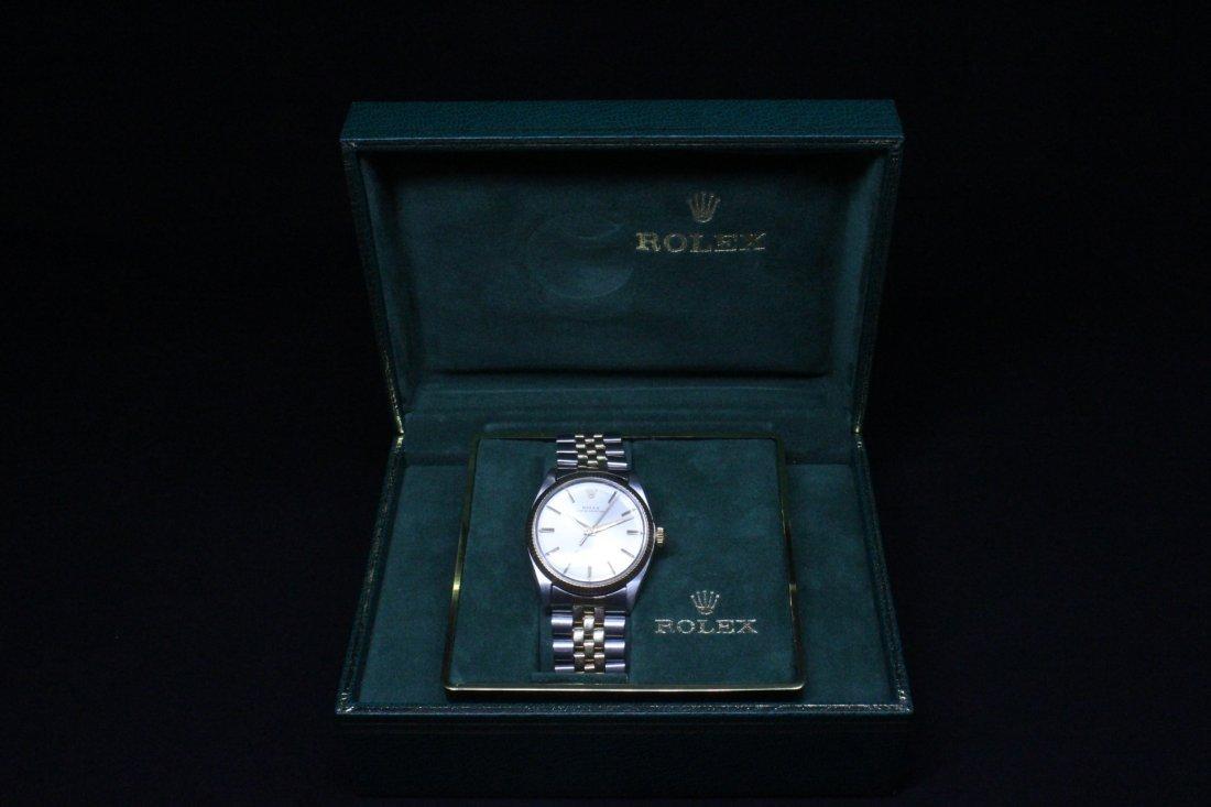 Rolex 18K gold & stainless steel wrist watch in box - 2