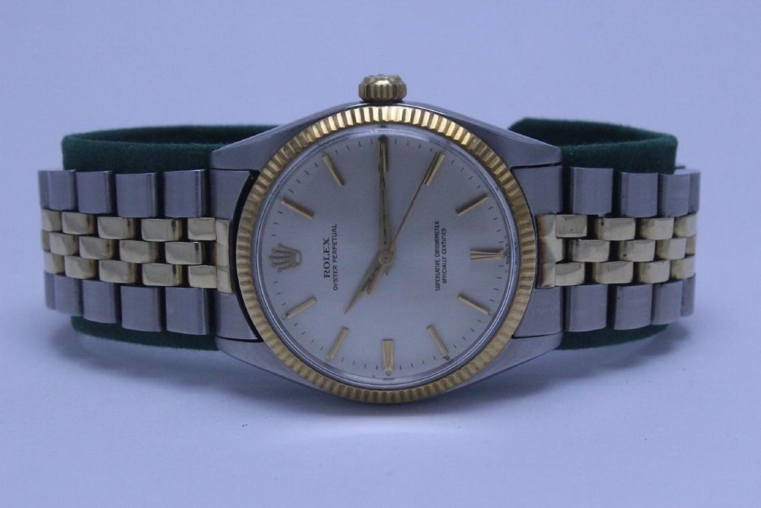 Rolex 18K gold & stainless steel wrist watch in box - 3