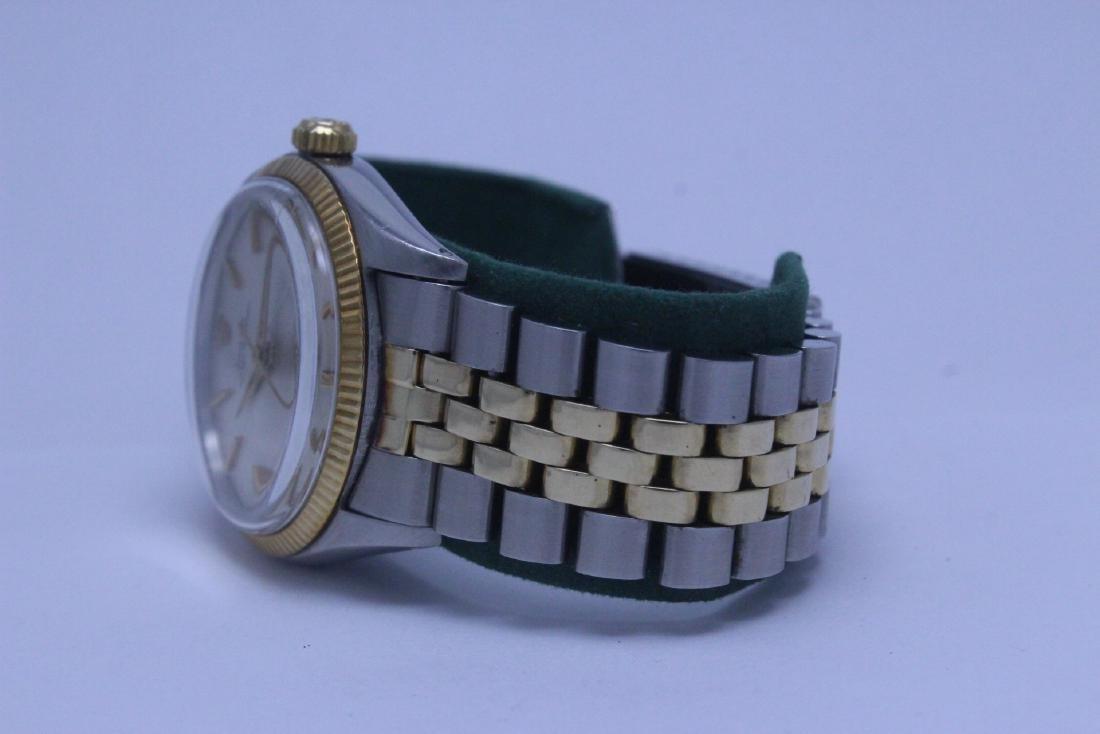 Rolex 18K gold & stainless steel wrist watch in box - 4