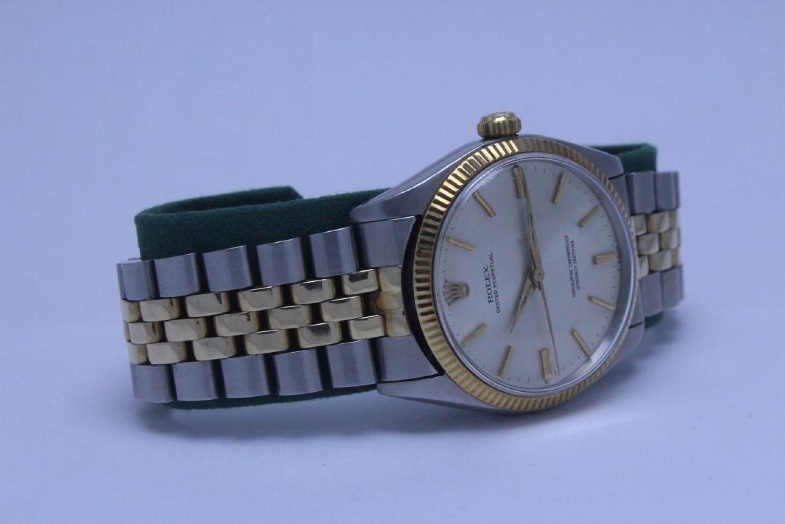 Rolex 18K gold & stainless steel wrist watch in box - 5