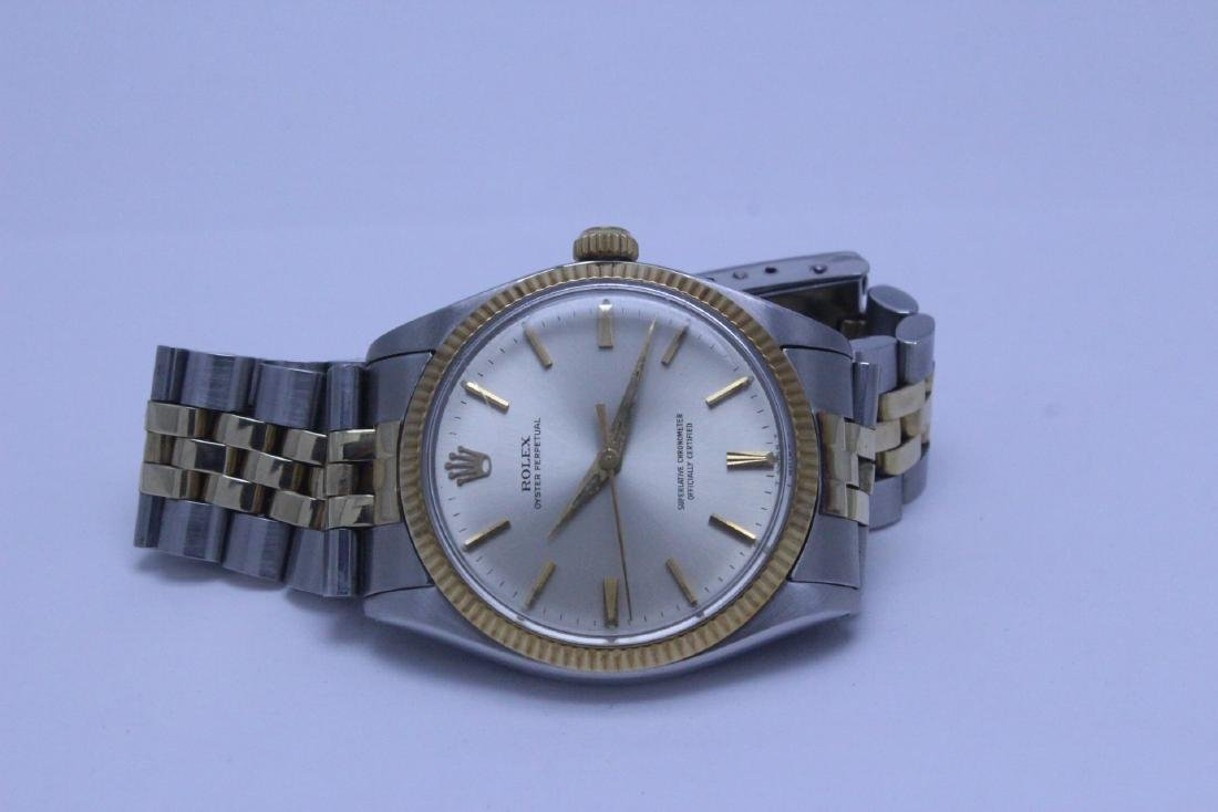 Rolex 18K gold & stainless steel wrist watch in box - 8