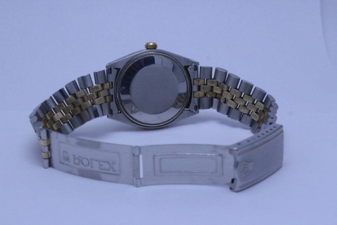 Rolex 18K gold & stainless steel wrist watch in box - 9