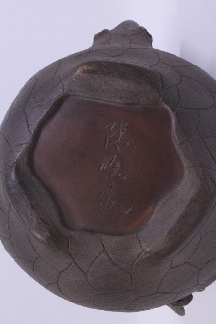 A fine Chinese Yixing teapot - 10