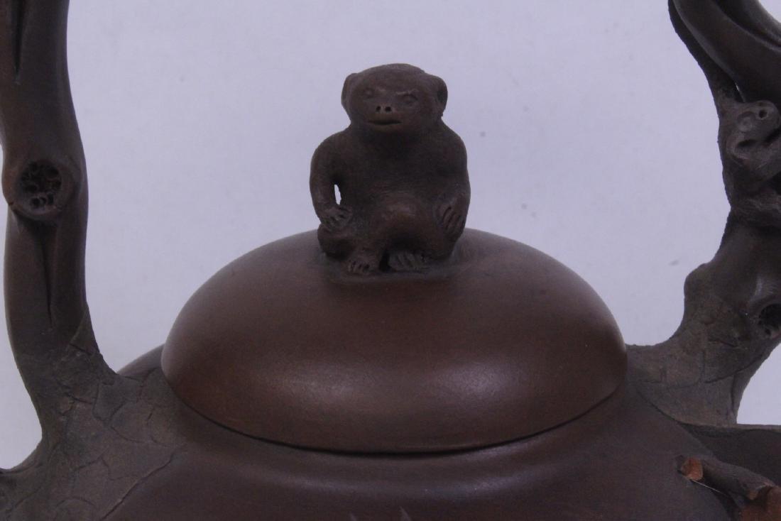 A fine Chinese Yixing teapot - 3