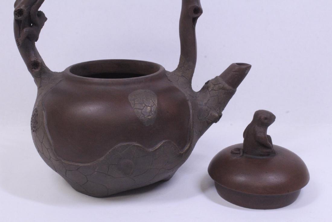 A fine Chinese Yixing teapot - 7