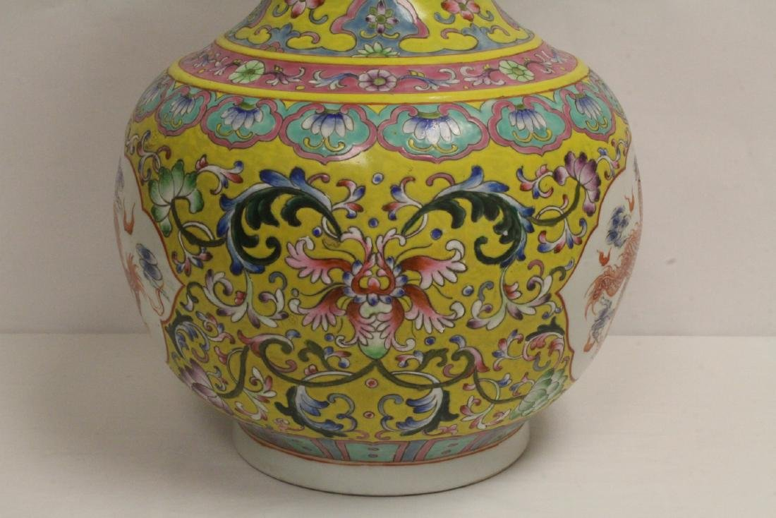 A massive Chinese famille rose porcelain jar - 6