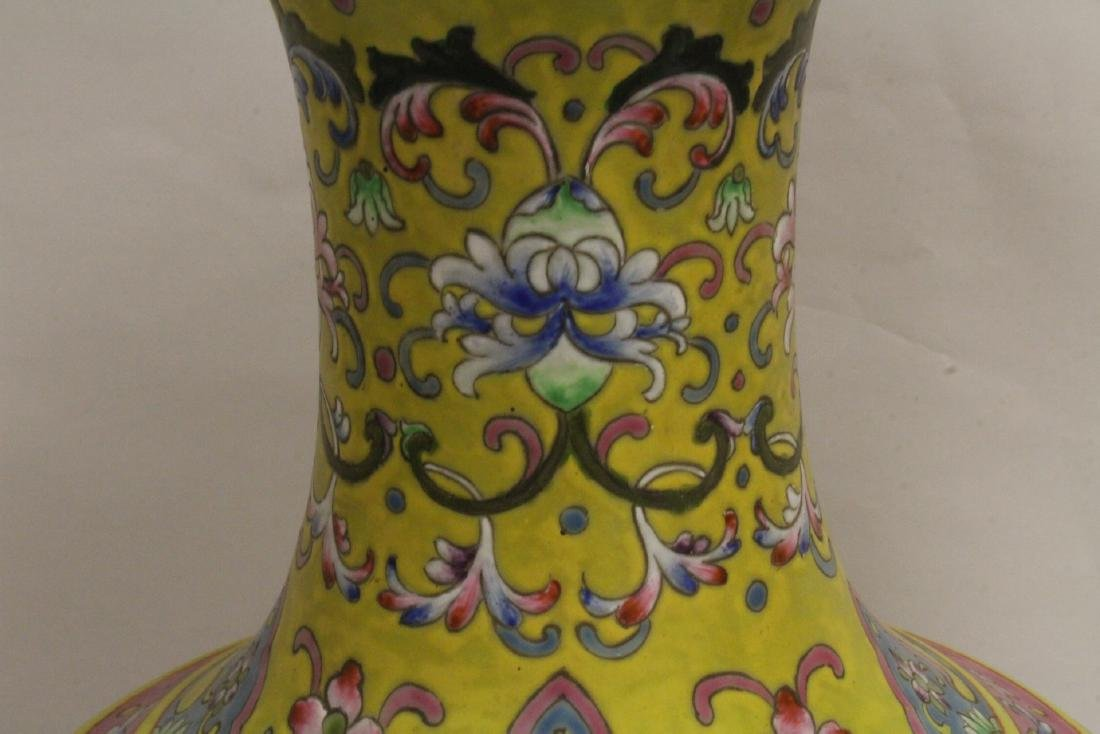 A massive Chinese famille rose porcelain jar - 7