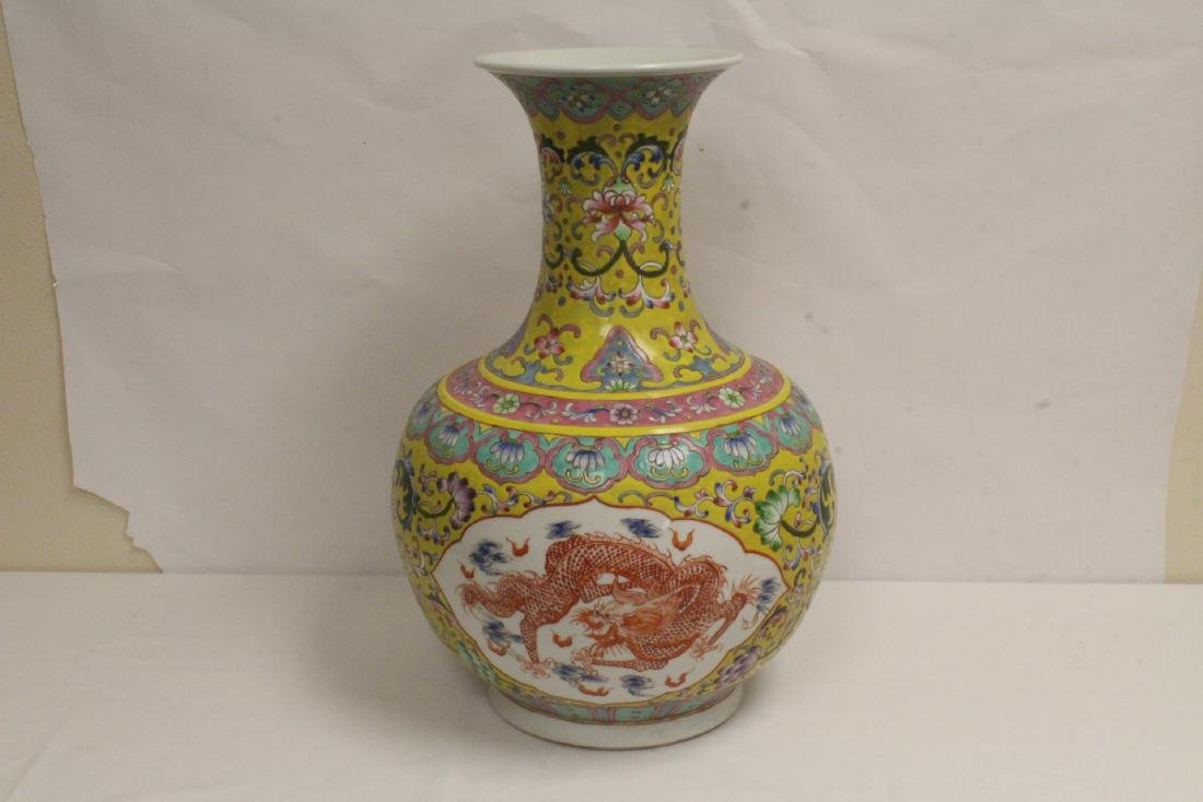 A massive Chinese famille rose porcelain jar - 8