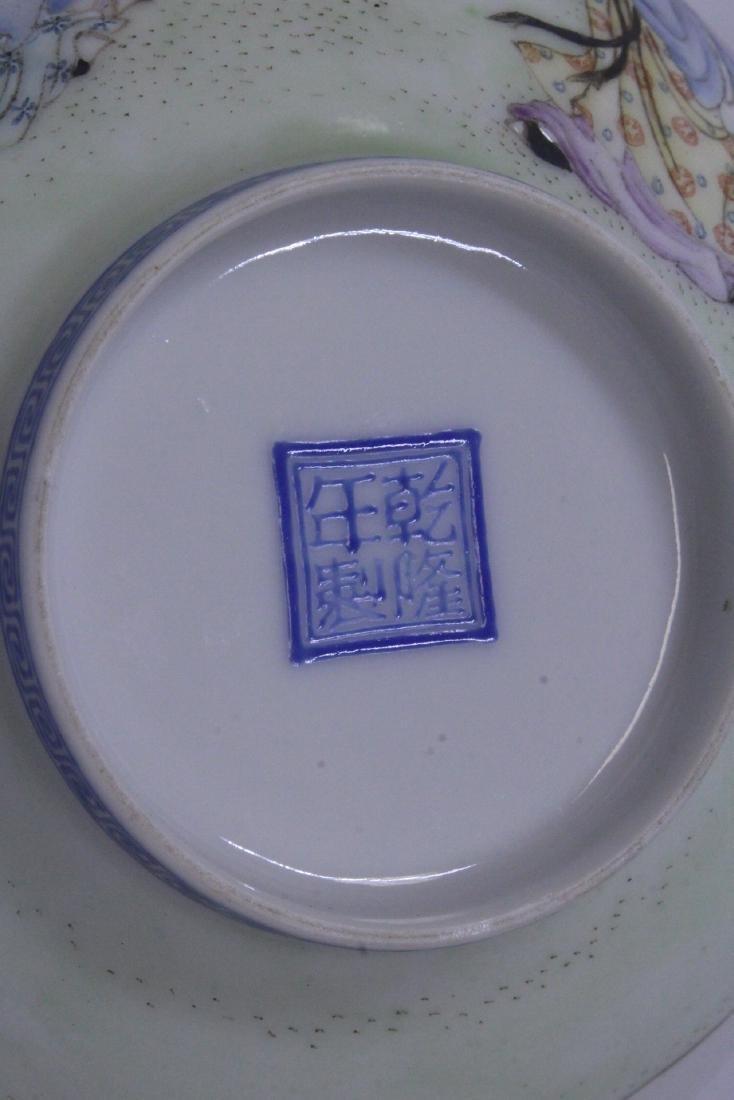 Chinese famille rose egg shell porcelain bowl - 10