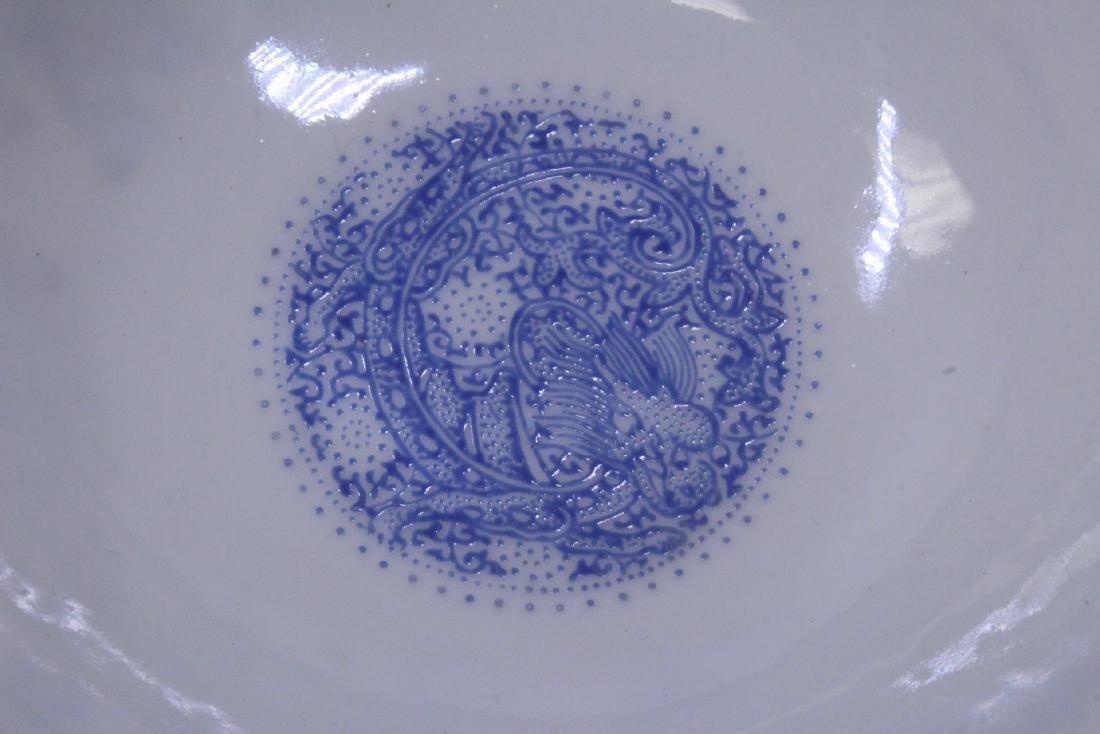 Chinese famille rose egg shell porcelain bowl - 9