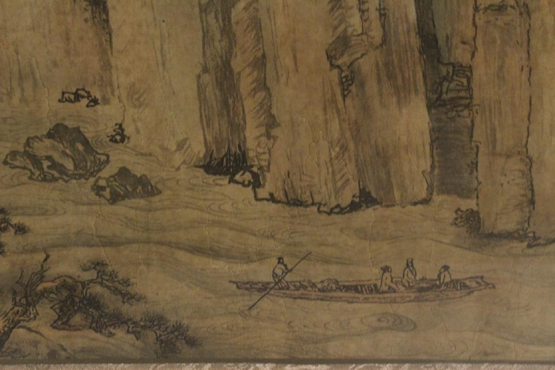 A framed Chinese watercolor - 10