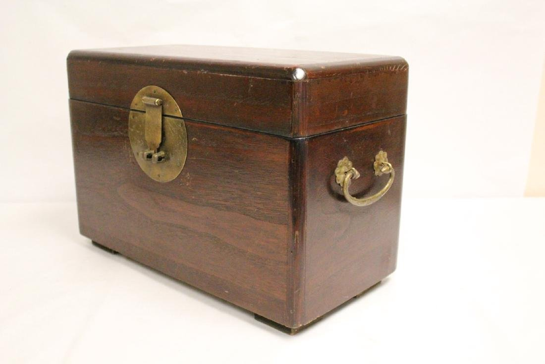 Chinese antique storage box - 9