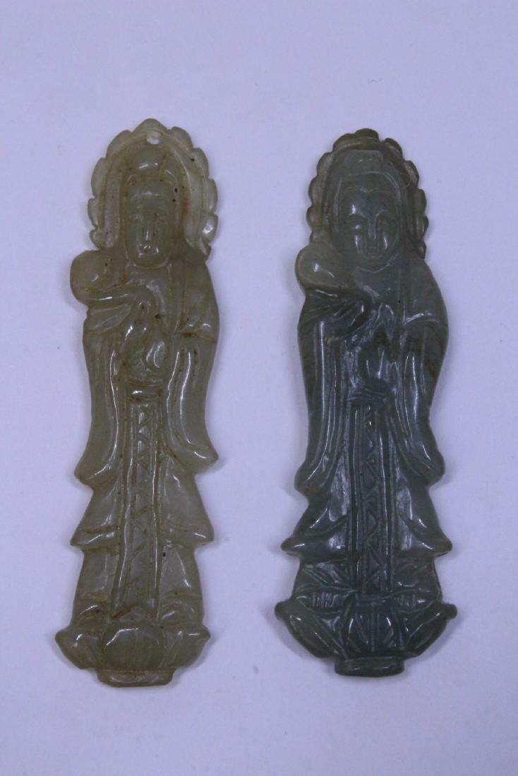 7 jadeite carvings - 2