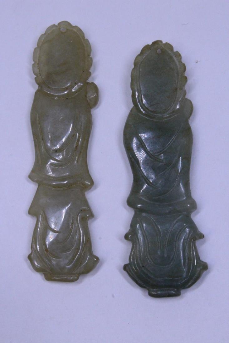 7 jadeite carvings - 3