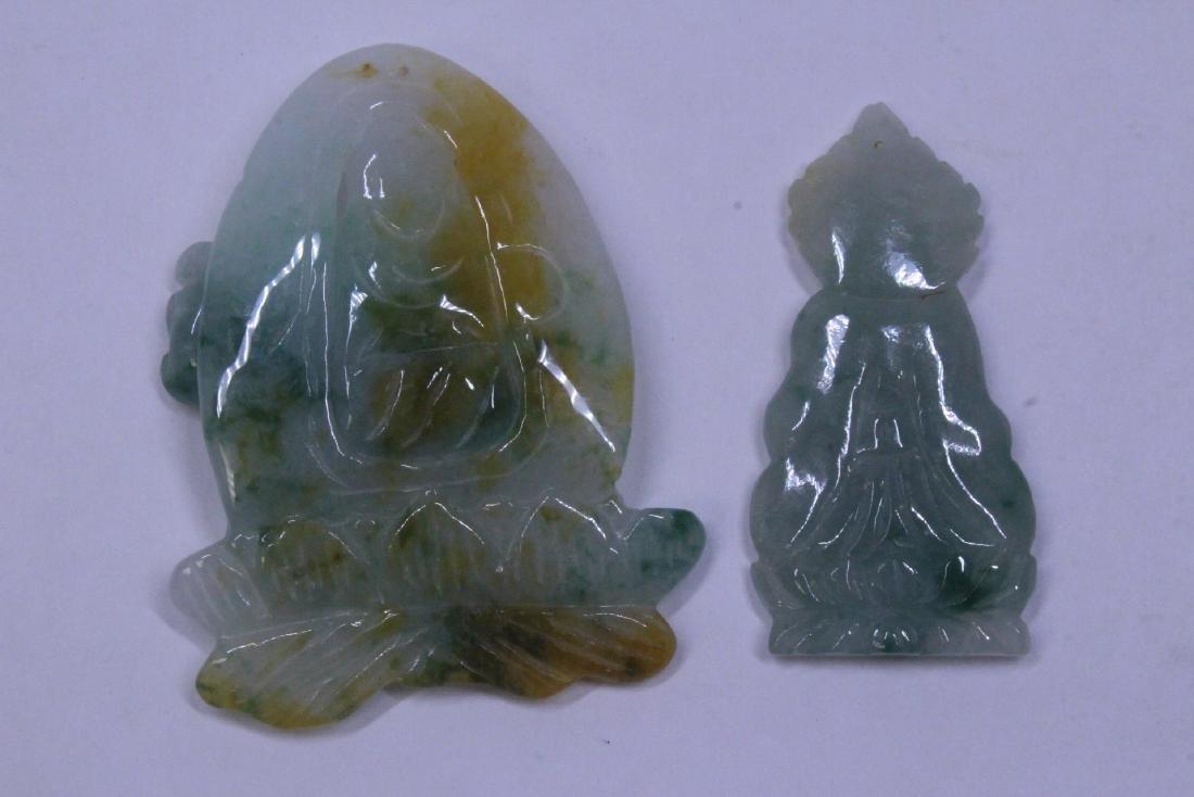 7 jadeite carvings - 5